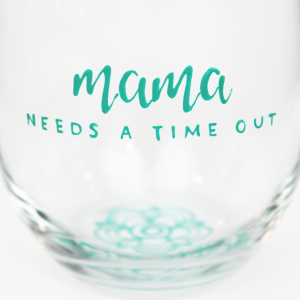 Mom Wine Glasses