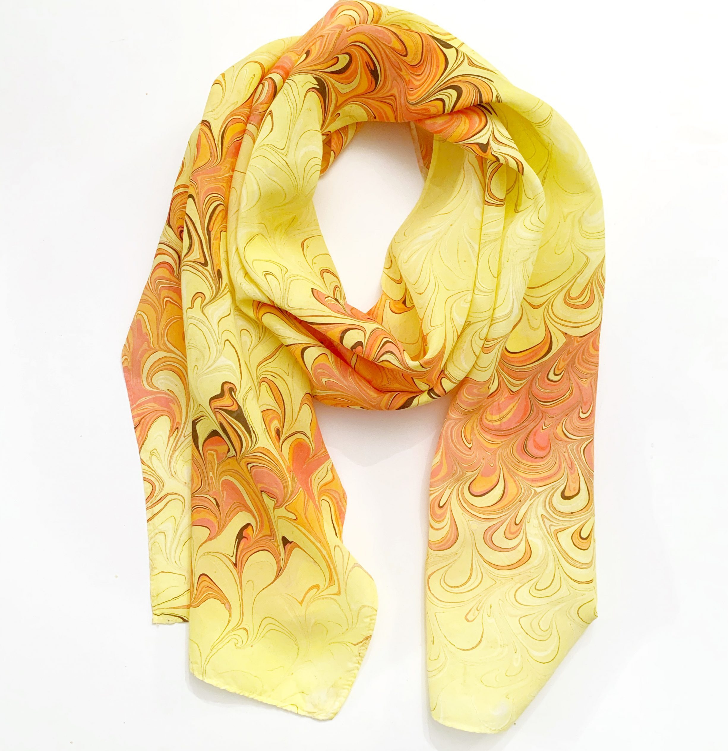 Women's Painted Scarf